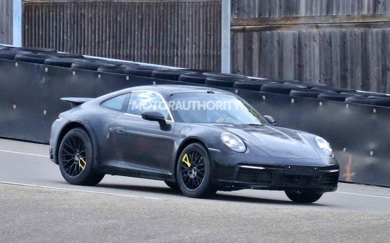 Porsche приступила к тестам «высокой» версии спорткара 911