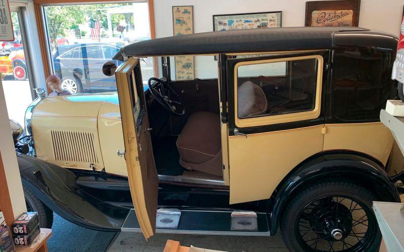 Раритетный Ford Model A 1927 года выставили на продажу за ₽3,3 млн