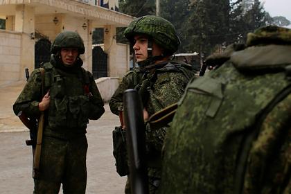 Россия отправила подкрепление в ключевой город в Сирии на фоне протурецких атак