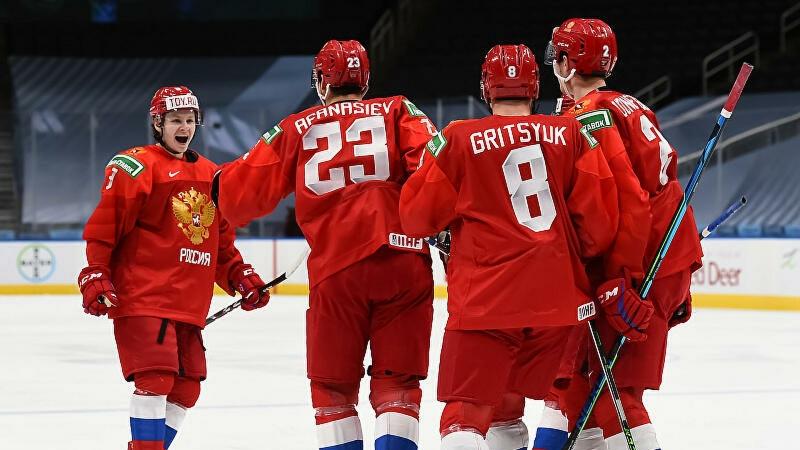 Сборная России обыграла команду Швеции на МЧМ по хоккею
