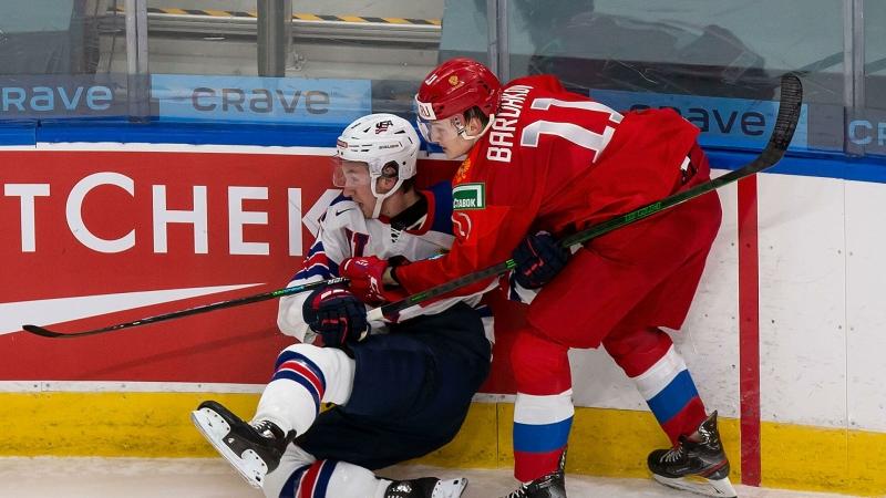 Сборная России обыграла команду США в матче МЧМ