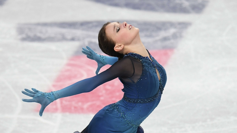 Щербакова выиграла чемпионат России по фигурному катанию