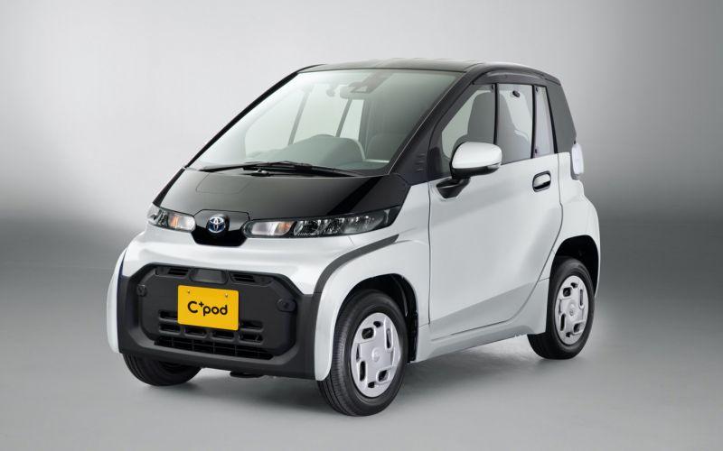 Toyota показала очень маленький электрический ситикар. Фото