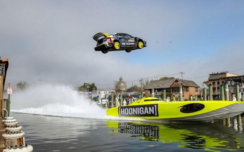 В новой «Джимхане» показали скоростной дрифт и прыжки через канал. Видео
