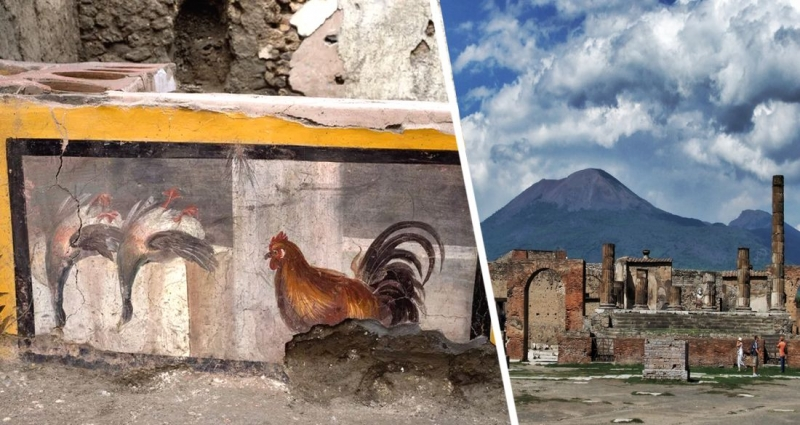 В Помпеях откопали древний фаст-фуд для античных туристов