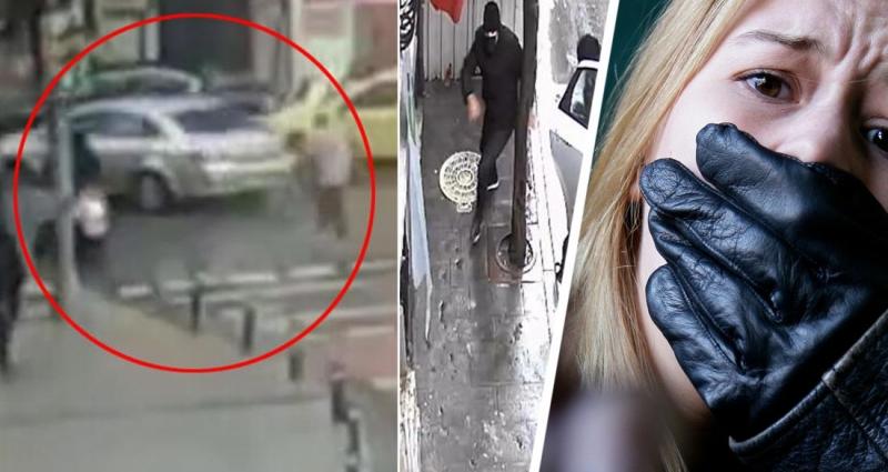 В Стамбуле туристку за рулем автомобиля ограбили прямо днем на улице