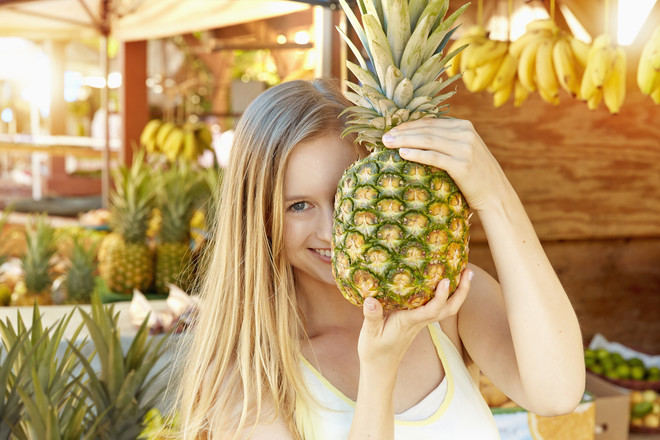 выбор ананаса