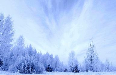 зимнее небо России